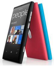 Nokia Lumia 800 Magenta + záložní zdroj Nokia DC-16 ZDARMA