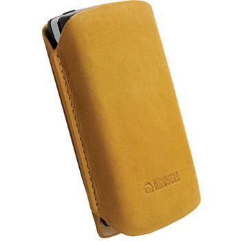 Krusell pouzdro Tingstad Pouch S - Sony Ericsson XPERIA Active/Mini/Mini Pro 93x55x18mm(žlutohnědá)