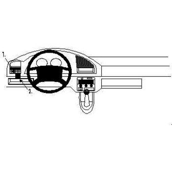 Brodit ProClip montážní konzole pro Citroen Berlingo 97-02, vlevo
