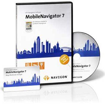 NAVIGON MobileNavigator 7 Europe pro Windows Mobile a Symbian S60