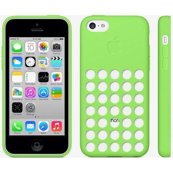 Apple originální kryt pro iPhone 5C, zelená