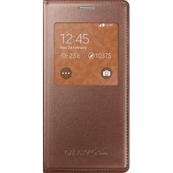 Samsung flipové pouzdro S-View EF-CG800BF pro Galaxy S5 mini, růžovozlaté