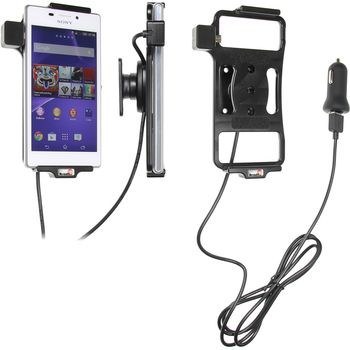 Brodit držák do auta na Sony Xperia M2 bez pouzdra, s nabíjením z cig. zapalovače