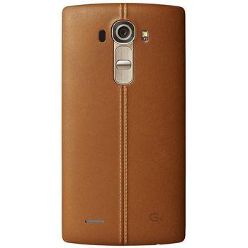 LG kožený zadní  kryt CPR-110 pro LG G4, hnědý