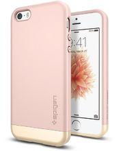 Spigen pouzdro Style Armor pro iPhone SE/5s/5, růžová