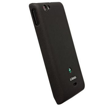 Krusell hard case - ColorCover - Sony Xperia miro  (černá metalíza)