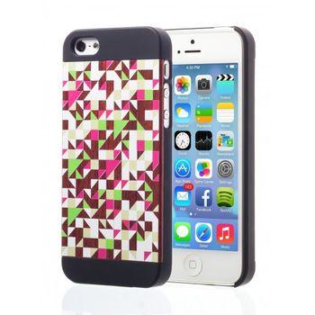 Esperia Evoque Triangles Rose kryt pro iPhone 5/5S