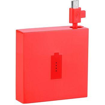 Nokia DC-18 záložní zdroj micro USB 1720mAh červená