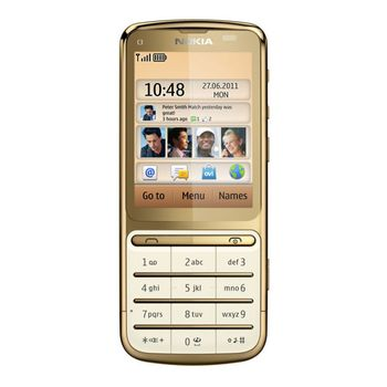 Nokia C3-01.5 (Touch and Type) Gold