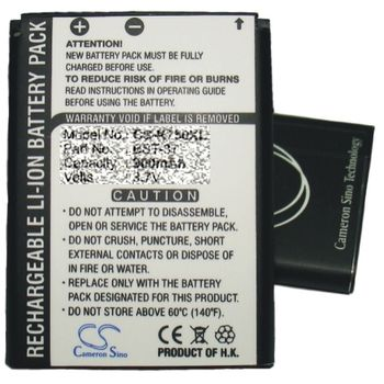 Baterie náhradní SE Sony Ericsson P910i, P900, P800 (1400mAh)