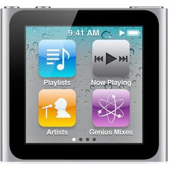 Apple iPod Nano 6th - 8GB (stříbrná)