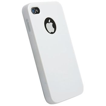 Krusell hard case - ColorCover - Apple iPhone 4/iPhone 4S (bílá)