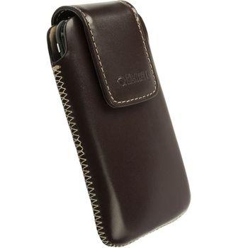 Krusell pouzdro Vinga - L - Nokia N8/N900, Sony Ericsson Xperia X2/Aspen/P990 114x67x16mm (hnědá)
