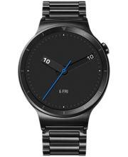 Huawei Watch W1 Stainless Steel Black, černé, kovový černý řemínek