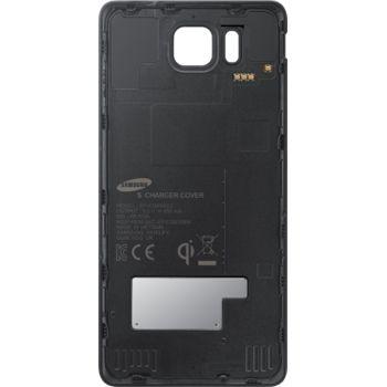 Samsung zadní kryt pro bezdrátové nabíjení EP-CG850IB pro Galaxy Alpha, černá, rozbaleno
