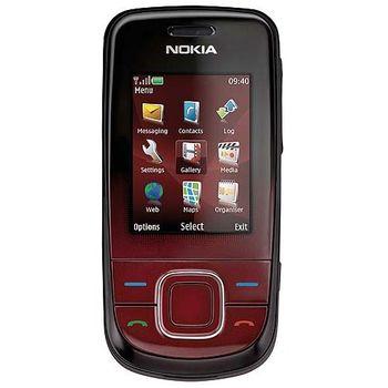 NOKIA 3600 slide Dark Red + pasivní držák Brodit