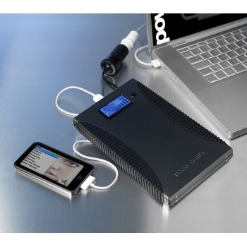 Powergorilla - záložní zdroj a nabíječka 21000mAh pro notebooky/ telefony/GPS/MP3