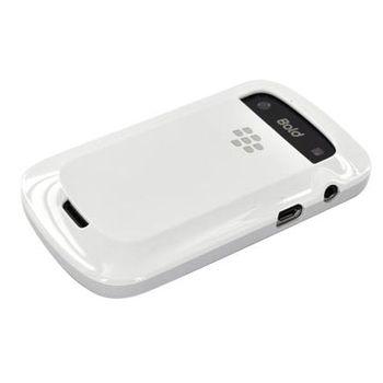 BlackBerry pevný kryt pro BlackBerry 9900/9930, bílá s jemným šedým nádechem