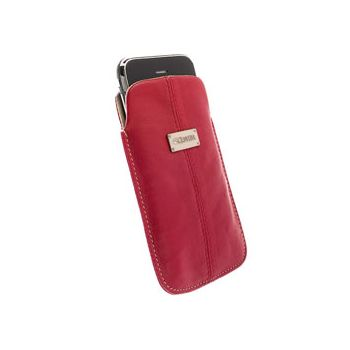 Krusell pouzdro Luna - XL - HTC HD7/HD2/HD,SE X10 114x66x15mm (červená)