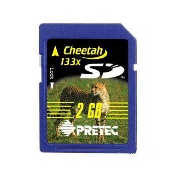 Pretec SD 2 GB Cheetah 133x (SecureDigitalCard ) - bazarové zboží