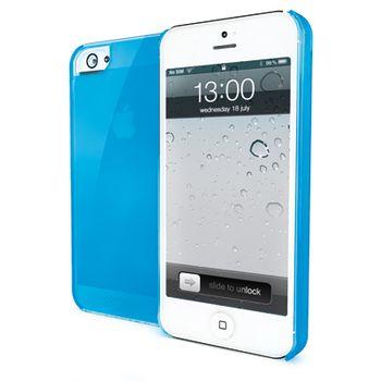 Pouzdro silikonové CELLY Gelskin pro Apple iPhone 5, tyrkysové