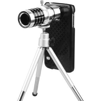 12x teleskopický objektiv + PanzerGlass sklo pro Samsung Galaxy S5