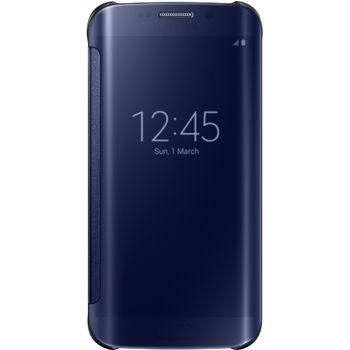 Samsung flipové pouzdro Clear View EF-ZG925BB pro Galaxy S6 Edge, černá