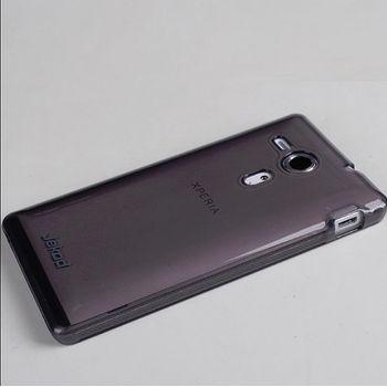 Jekod TPU silikonový kryt Sony Xperia M/M Dual, černá