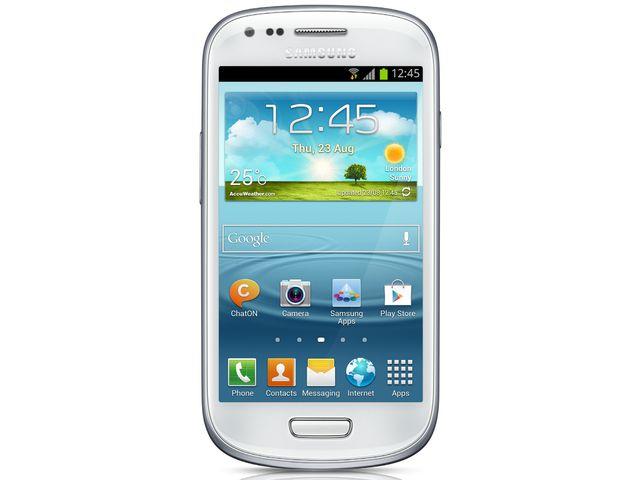 obsah balení Galaxy S III Mini NFC bílý + držák bez nabíjení Brodit