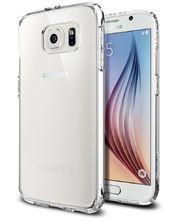 Spigen tenký kryt Ultra Hybrid pro Samsung Galaxy S6, tranparentní