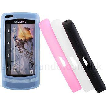 Silikonové pouzdro -Samsung i8910 HD (ledová)