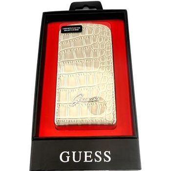 Guess Crocodile Flip pouzdro Galaxy S III mini, béžové