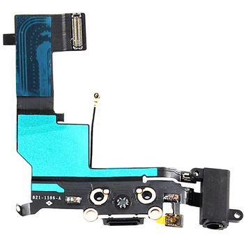 Náhradní díl systémový konektor Lightning s flex kabelem pro Apple iPhone 5S, bílý