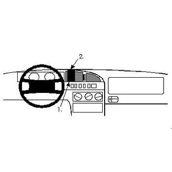Brodit ProClip montážní konzole pro Citroen XM 95-00, na střed