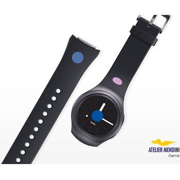 Samsung výměnný pásek ET-SRR72MB pro Gear S2, černý