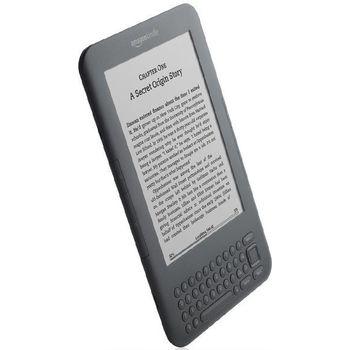 """Amazon Kindle 3 3G+Wi-Fi, 6"""" E-ink displej + originální Amazon černé plastové pouzdro"""