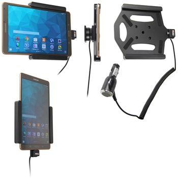 Brodit držák do auta na Samsung Galaxy Tab S 8.4 bez pouzdra, s nabíjením z cig. zapalovače