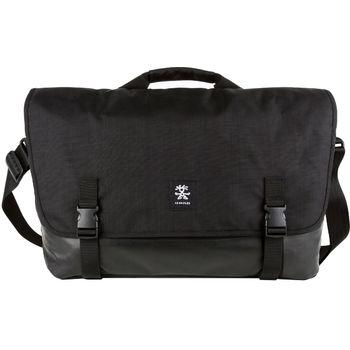 """Crumpler Private Surprise XL nylonová taška 17.3"""" - černá/černá"""