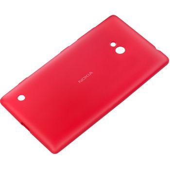 Nokia měkký kryt CC-1057 pro Lumia 720, červená