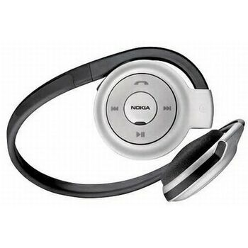 Bluetooth Stereo Headset Nokia BH-503 Black Silver