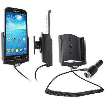 Brodit držák do auta na Samsung Galaxy S4 i9505 bez pouzdra, s nabíjením z cig. zapalovače