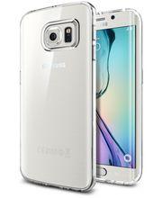 Spigen tenký kryt Liquid Crystal pro Samsung Galaxy S6 edge, transparentní