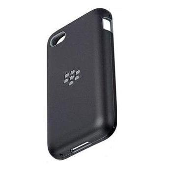 BlackBerry pevný kryt Premium pro Q5, černá/šedá