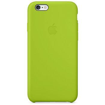 Apple silikonový kryt pro iPhone 6/6S, zelená