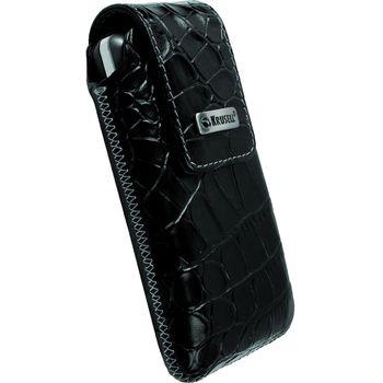 Krusell pouzdro Vinga Croco - M - iPhone 4/3GS/3G, HTC Wildfire, Nok C7/5230/5800 112x57x13 (černá)