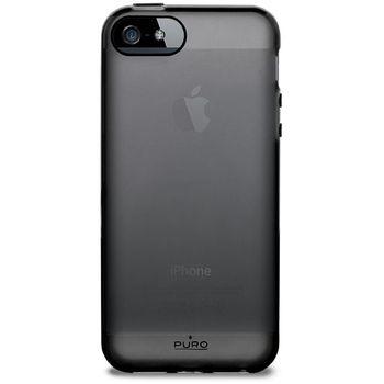 PURO pouzdro Plasma pro Apple iPhone 5 - černá