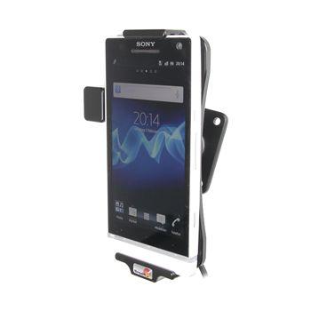 Brodit držák do auta na Sony Xperia S bez pouzdra, se skrytým nabíjením