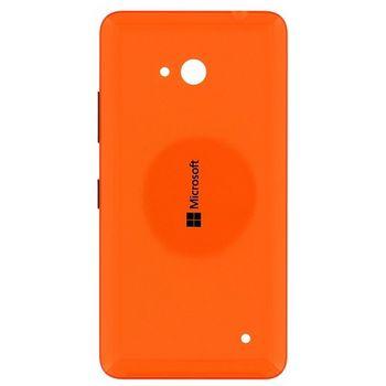 Náhradní díl na Microsoft Lumia 640 kryt baterie oranžový