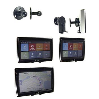 Brodit držák do auta pro Mio Moov 300/500/V505TV aj s kloubem 16 mm bez nabíjení