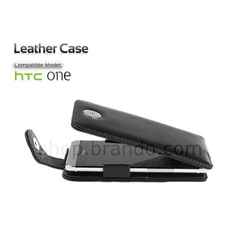 Brando kožené pouzdro Flip Top - HTC One
